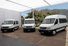 JAC minibuses
