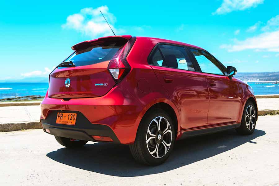 All New MG3 imagen posterior